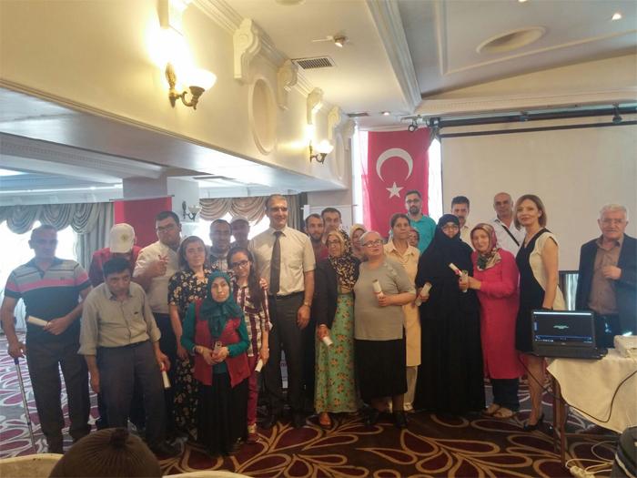 Atekder Engellileri İş Gücü Piyasasına Hazırlıyor Adlı Projemizin Sonuç Toplantısı