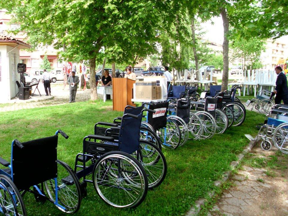 Tekerlekli Sandalye Yardımları